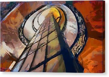 Stairway To Heaven Canvas Print by Sergey Lukashin