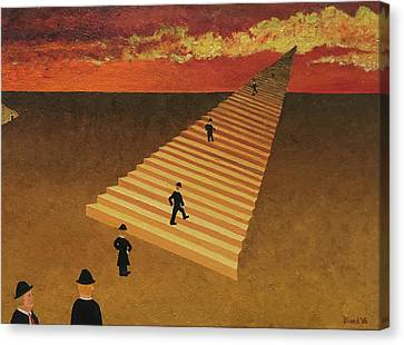 Stairway To Heaven Canvas Print by Thomas Blood