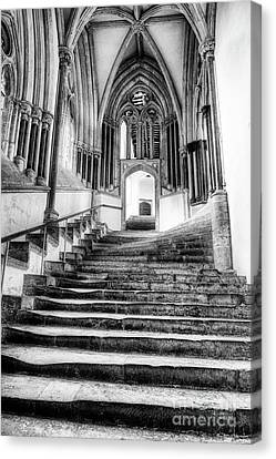 Canvas Print featuring the photograph Stairway To Heaven by Tim Gainey