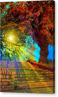Stairway To  Canvas Print