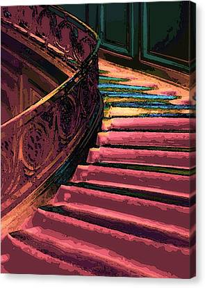 Stairway To Somewhere Canvas Print by Lyle  Huisken