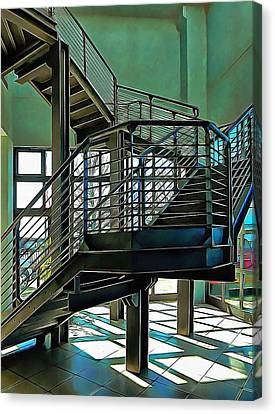 Stairway To Where Canvas Print