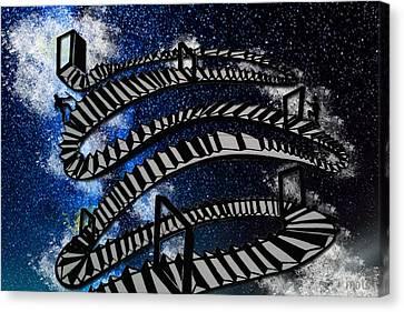 Stairways To Heaven Canvas Print