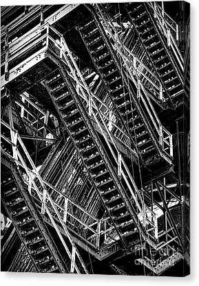 Stairwell Hell Canvas Print