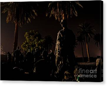 Stand By Canvas Print
