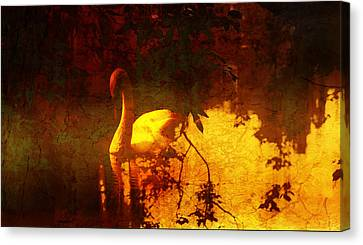 Stand By  Me  Canvas Print by Andrew Hunter