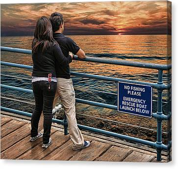 Stand By Me .... Canvas Print by Bob Kramer