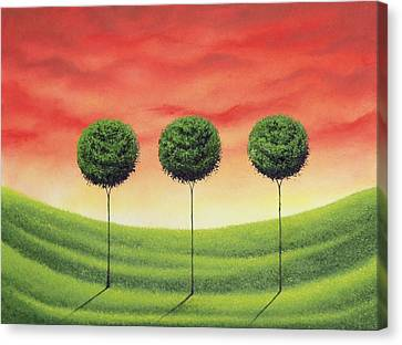 Stand Strong Canvas Print by Rachel Bingaman