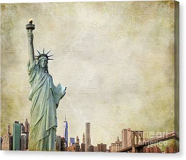 Artography Canvas Print - Stand Tall by AJ Yoder