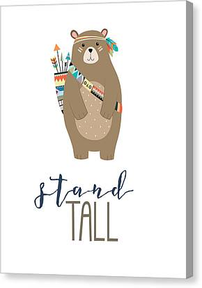 Stand Tall Canvas Print by Jaime Friedman