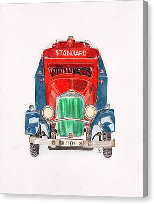 Standard Oil Tanker Canvas Print