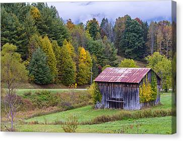 Tenessee Roadside Barn Canvas Print