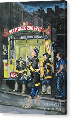 Standing Fast-engine 75 Canvas Print by Paul Walsh