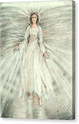 Guardian Angel Canvas Print - Standing Still Angel by Laurie Parker