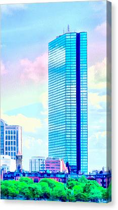 Standing Tall Canvas Print by Anthony Caruso