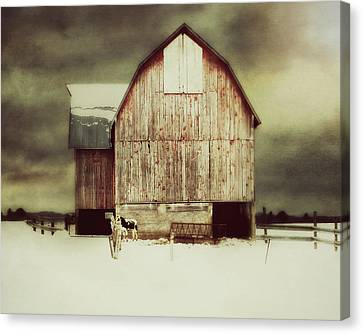Canvas Print featuring the photograph Standing Tall by Julie Hamilton