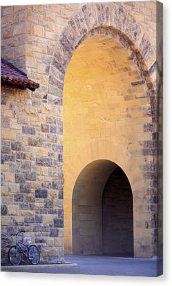 Stanford Arches Canvas Print by Linda Dunn