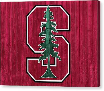 Stanford Barn Door Canvas Print by Dan Sproul