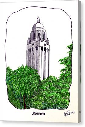 Stanford Canvas Print by Frederic Kohli