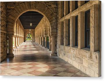 Stanford Hall Canvas Print