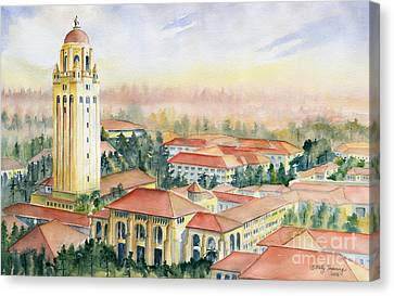 Stanford University California Canvas Print by Melly Terpening