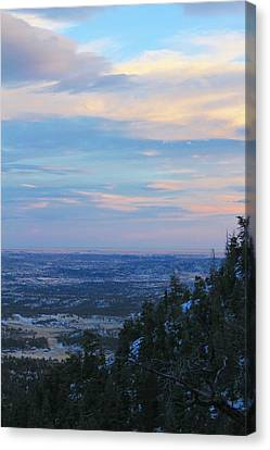 Stanley Canyon Hike Canvas Print by Christin Brodie