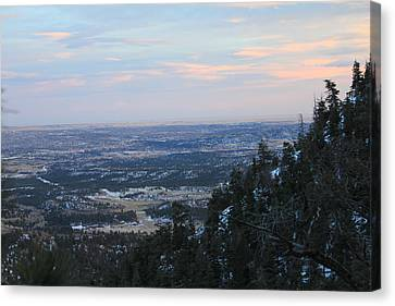 Stanley Canyon View Canvas Print by Christin Brodie