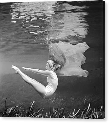 Ballet Dancers Canvas Print - Stanley's Ballet by Bruce Mozert