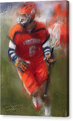 Stanwick Lacrosse 3 Canvas Print by Scott Melby