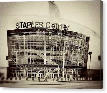 Staples Center Canvas Print