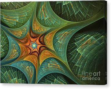 Star Abstract Canvas Print by Deborah Benoit