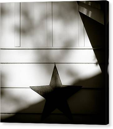 Star And Stripes Canvas Print by Dave Bowman