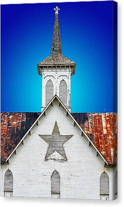 Star Barn 2 Canvas Print