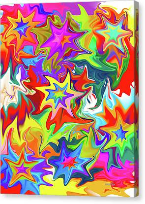 Star Canvas Print by Betsy Knapp
