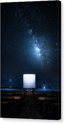Canvas Print featuring the photograph Star Cathedral by Mark Andrew Thomas