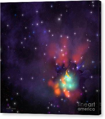 Star Cluster Canvas Print by Corey Ford