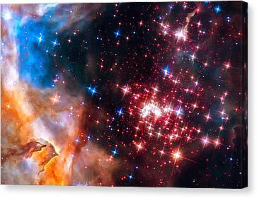 Star Cluster Westerlund 2 Space Image Canvas Print by Matthias Hauser