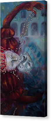 Juliet Canvas Print - Star-crossed Lovers by Dorina  Costras