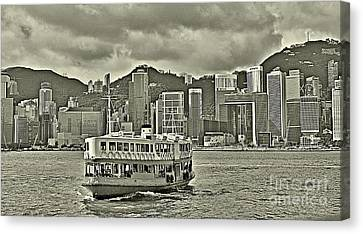 Star Ferry In Hong Kong Canvas Print