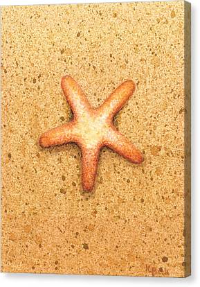 Fish Canvas Print - Star Fish by Katherine Young-Beck
