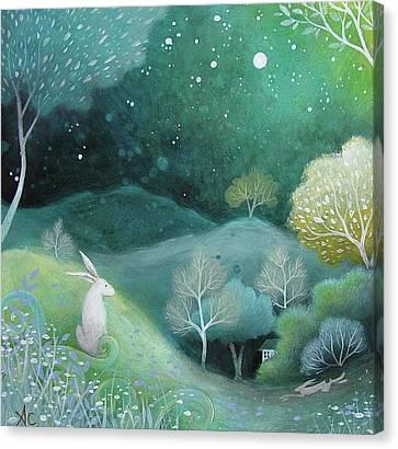 Star Light Canvas Print by Amanda Clark