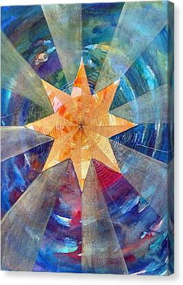 Star Mandala 1  Canvas Print
