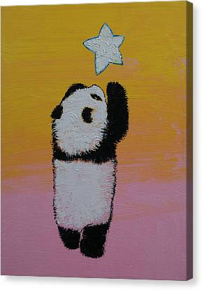 Star Canvas Print by Michael Creese