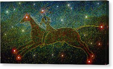 Star Rider Canvas Print by David Lee Thompson