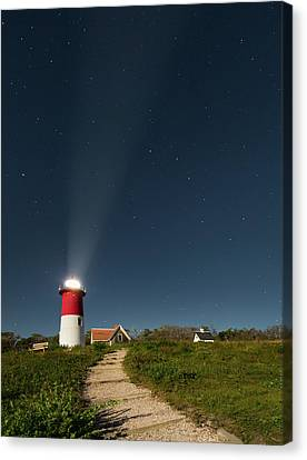 Moons Canvas Print - Star Search by Bill Wakeley