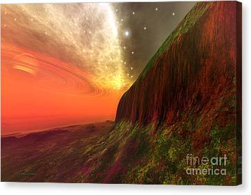 Star Stuff Canvas Print by Corey Ford