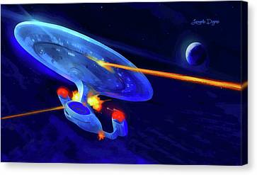 Star Trek Enterprise Canvas Print