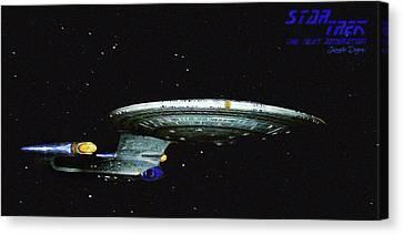 Star Trek The Next Generation Canvas Print