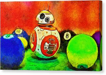 Star Wars Bb-8 And Friends - Pa Canvas Print