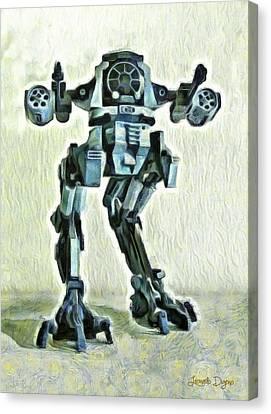 Star Wars Destructor - Da Canvas Print